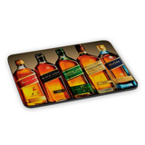 Mousepad Whisky Red Black Green Gold Blue Label Anos