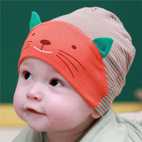 Touca - Boné - Bebês - Infantil 1 A 2 Anos - Com Orelhinhas 534f17f8ba3