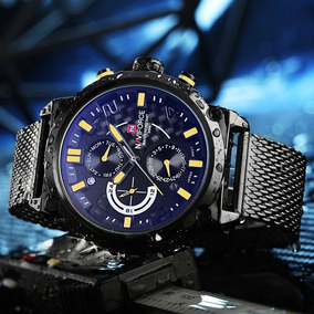 Relógio Naviforce Suiço Original Com Certificado E Caixa