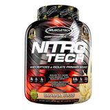 Proteína Nitro Tech 4 Lbs + Shaker Regalo + Envío Gratis!