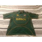 Camisa Rugby - África Do Sul - Springboks - Polo - Tam. Xxl