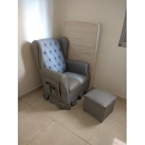 Cadeira Amamentação Opala + Puff + Brinde Bandeja Laqueada. Usado - Minas  Gerais · Poltrona De Amamentação Com Balanço E Puff. R  450 b9a9fe30f2
