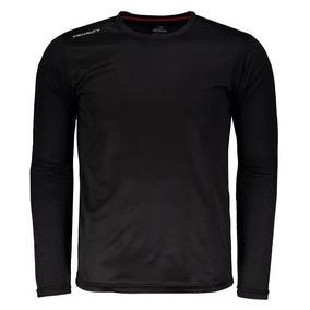 Camisa Penalty Matís Uv Vii Manga Longa Preta c2a847a384660