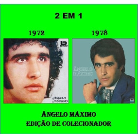 Cd Ângelo Máximo - 2 Em 1 - 1972 & 1978