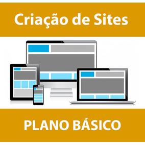 Criação De Sites - Plano Básico Mensal