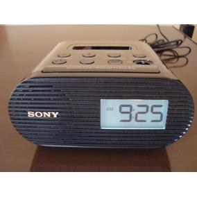 804836f935c Radio Relogio Sony Icf-c05ip Com Encaixe Para Ipod iphone