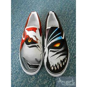 Zapatos Death Note Mask 1 Marca Collec Diseño Hecho A Mano