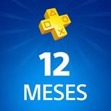Psn Plus 12 Meses Ps4 - Entrega Inmediata !! - Bunnygames