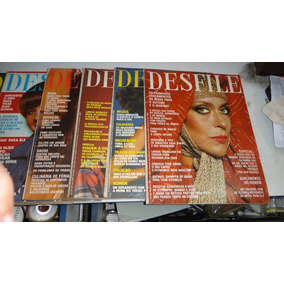 Lote Com 10 Desfile (revista) Raras 83 A 93