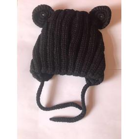 Promoçã Touca Gorro Bebe Criança 6m 5 Anos Urso Branco Preto 02868d32ed8