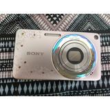Câmera Sony Cyber Shot Desire W350d Rosa Cristais Swarowsky