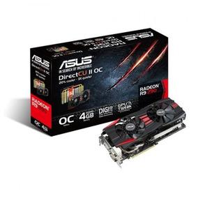 Tarjeta De Video Asus Amd Radeon R9 290x 4gb Ddr5