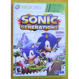 Sonic Generations Xbox 360 Play Magic