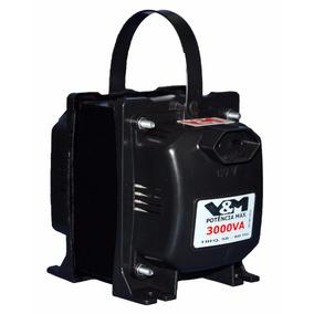 Transformador De Voltagem Bivolt 110v E 220v     3000va