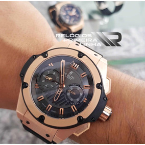 70f1076c3de Hublot Original De Luxo Masculino - Relógios De Pulso no Mercado ...