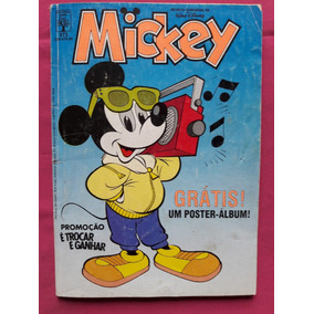 Revista Mickey N° 473 Editorial Abril Walt Disney