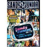 Dvd Sandy E Junior Na Tv - Original Novo Lacrado Raro