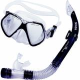 Kit De Mergulho Máscara E Respirador Scuba - Nautika 480750