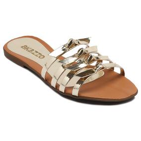 00d46b1bec9 Rasteira Akazzo Feminino Sandalias - Sapatos no Mercado Livre Brasil