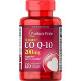 Coenzima Q-10 Coq10 200mg - 120 Cáps Importado Frete Grátis
