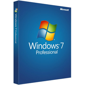 Windows 7 Professional Licencia Original 32/64 Bits Retail