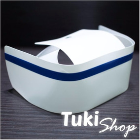 Cofia Enfermera Acabado Plástico Línea Azul Tuki Envio Grati