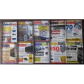 Vídeosom - Coleção Com 20 Revistas A R$ 17,00 Cada