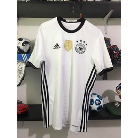 Jersey Alemania adidas Eurocopa 2016 Parche Mundial 2014 S da76dded1211b