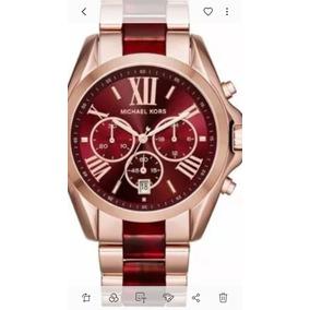 Relogio Michael Kors Fund Vermelho - Relógios De Pulso no Mercado ... 8058b3066d