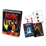 Baraja Poker Ac/dc Coleccionable