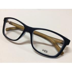 68a981e6e20da Óculos De Grau Quadrado - Óculos Armações HB no Mercado Livre Brasil
