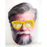 20 Mascaras Fabio Assunção C/oculos Plastico ( Imperdivel )