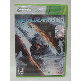 Metal Gear Rising Revengeance - Game Xbox 360 Lacrado Mídia