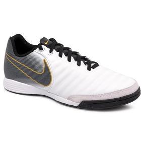 Tênis Indoor Dalponte New Valência. 3 vendidos - Paraná · Tênis Futsal Nike  Legend 7 Academy Couro Branco preto 303808d58addf