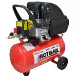 Motocompressor De Ar Motomil 8,7 Pés 24l - 2cv - Bivolt
