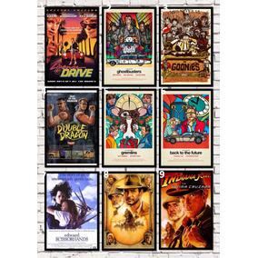 Quadro Pôster Filmes Anos 80