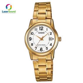 e58fc0c770c Relogio Feminino Dourado Pernambuco - Relógio Casio Masculino no ...