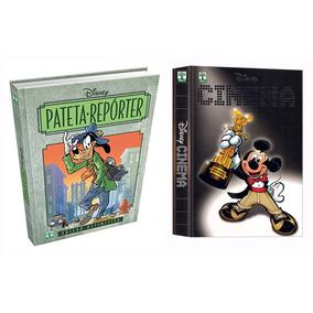 Hq Pateta Reporter + Cinema Mickey Disney Luxo Frete Grátis