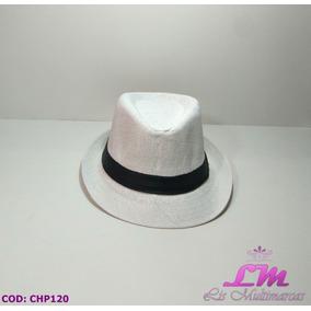 Chapéu Panamá Branco - Tamanho 54 624ea93fe2b