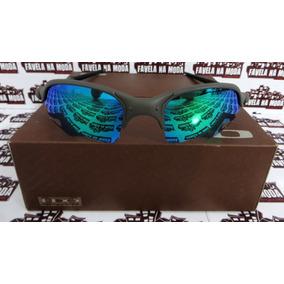 c5674cdb2546f Lente Green Jade Para Oakley Juliet - Óculos no Mercado Livre Brasil