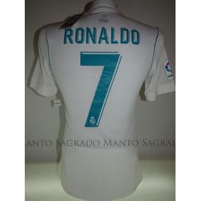 Camiseta Nike Cr7 Dry Ronaldo Blanca Original Envio Gratis por Seventeen St  · Manto Sagrado Madrid 2017-18  7 Ronaldo 61b014e6dab66