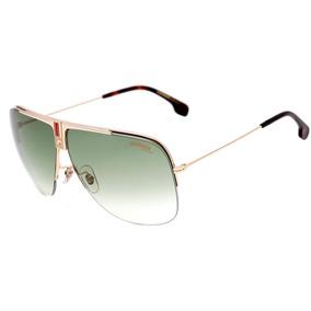 ba131e80d830f Carrera 1013 S - Óculos De Sol J5g 9k Dourado Brilho  Verde