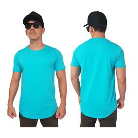 Kit C/6 Camisas Blusas Masculinas Longline Oversizer Swag