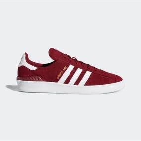 Tnis Adidas Campus 80s Vermelho Tenis - Calçados 58dc1e7bc7495