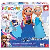 Fofucha. Armá Y Decorá Muñecas Frozen Anna Y Elsa