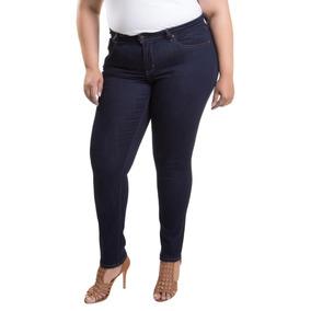 Calça Jeans Levis Feminina 711 Skinny Plus Size Escuro e73fd2d764d
