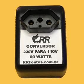 Transformador Conversor Voltagem 220v 110v 60w 220 Para 110