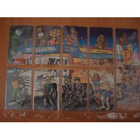 Cartão Telefônico Telemar Carnaval Da Bahia 2001(10 Cartões)