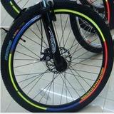 Adesivos Refletivos Roda De Bicicleta Aro Moto Bike