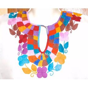 Hermosas Blusas Bordadas A Mano Blusas De Mujer En Mercado Libre